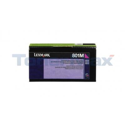LEXMARK CX510 TONER CARTRIDGE MAGENTA RP 1K